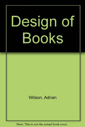9780879050191: Design of Books