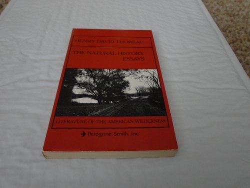 9780879050719: Natural History Essays (Literature of the American wilderness)