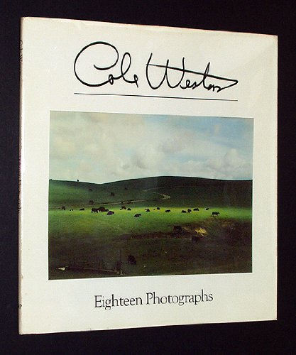 Cole Weston, Eighteen Photographs. Signed and inscribed by Cole Weston.