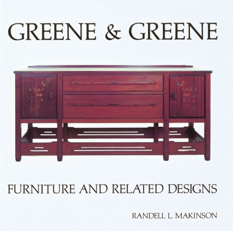 9780879051259: Greene and Greene: Furniture and Related Designs (Vol 2)