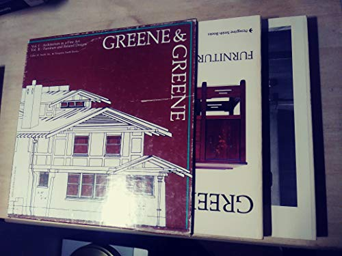 9780879051679: Greene and Greene: Architecture as a Fine Art (2 Volumes)