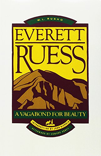 9780879052102: Everett Ruess (Pod): A Vagabond for Beauty