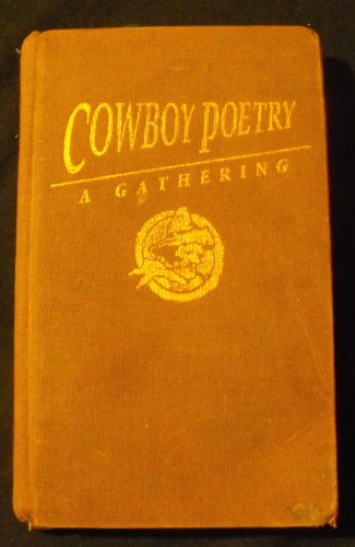 9780879052119: Cowboy poetry: A gathering