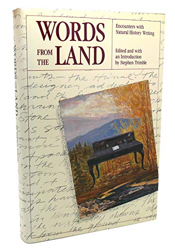 9780879052423: Words from the Land: Encounters With Natural History Writing