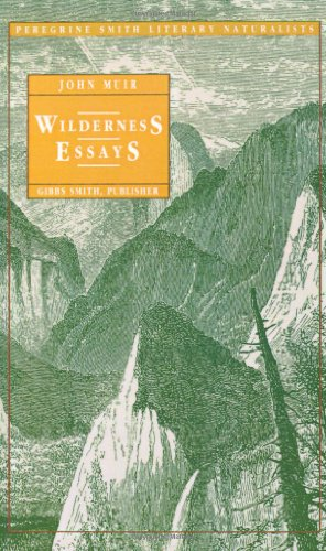 9780879053017: Wilderness Essays (Peregrine Smith Literary Naturalists)