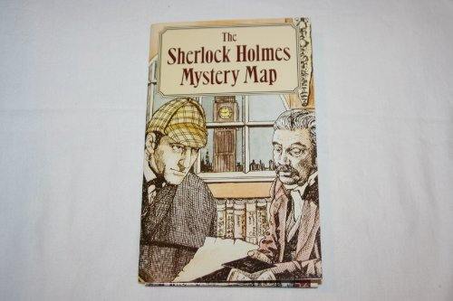 9780879054281: The Sherlock Holmes mystery map: [England and London