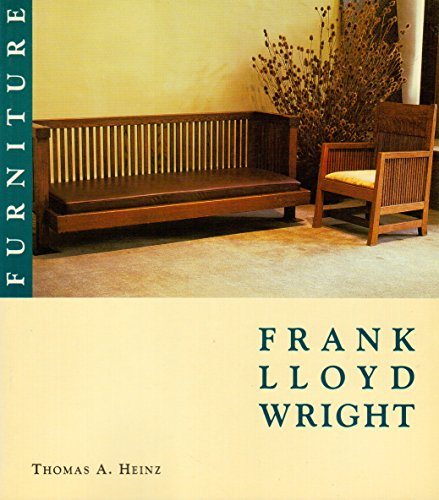 Frank Lloyd Wright Furniture Portfolio (Frank Lloyd Wright Portfolio Series): Heinz, Thomas A