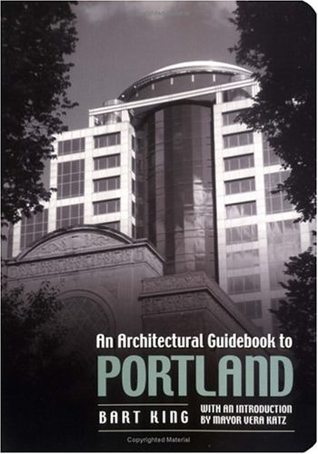 9780879059910: Architectural Guidebook to Portland