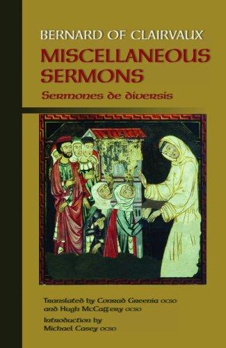 9780879071684: Bernard of Clairvaux: Sermones De Diversis/Occasional Sermons (Cistercian Fathers)
