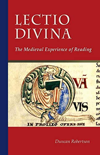 9780879072384: Lectio Divina: The Medieval Experience of Reading (Cistercian Studies)