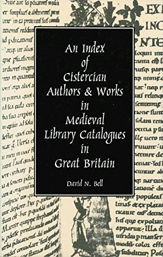 9780879075323: An Index of Cistercian Authors and Works in Medieval Library Catalogues in Great Britain (Cistercian Studies Series)