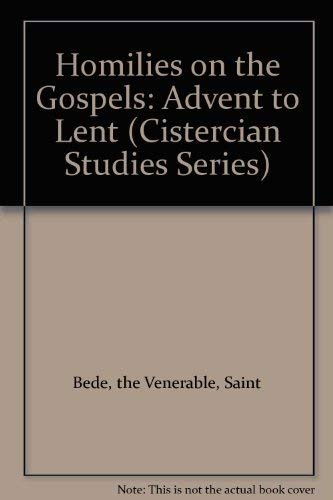 9780879076108: Homilies on the Gospels: Advent to Lent