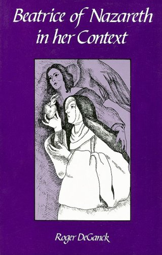 9780879077211: Beatrice of Nazareth in Her Context: Vol 1 & 2 (Cistercian Studies Series)