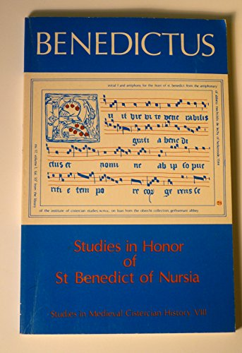 9780879078676: Studies in Honor of st Benedictus (Cistercian Studies Series)
