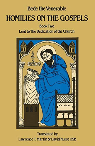 9780879079116: Homilies on the Gospels: Lent to the Dedication of the Church (Book Two) (Bk. 2)