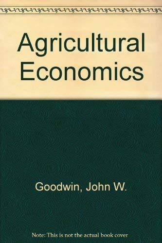 9780879090203: Agricultural Economics