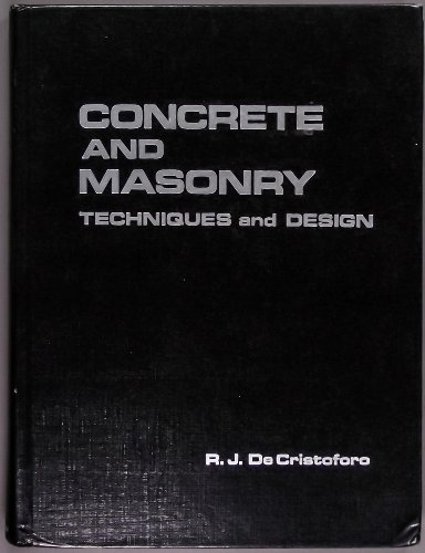 9780879091491: Concrete and Masonry: Techniques and Design