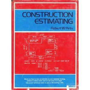 9780879091521: Construction Estimating: Residential Material Take-Off : Concrete, Framing Lumber, Finish Material, Hardware