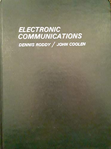 9780879092245: Electronic communications