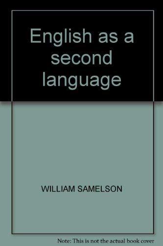 9780879092504: ENGLISH AS A SECOND LANGUAGE