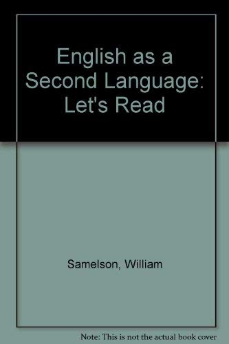 9780879092573: Title: English as a second language phase two Lets read