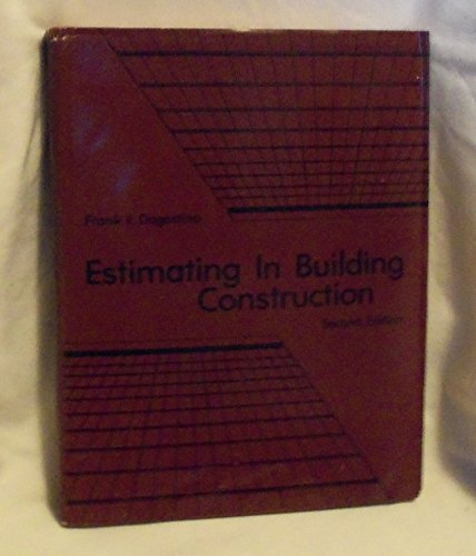 9780879092757: Title: Estimating in building construction