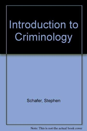 9780879093907: Introduction to Criminology