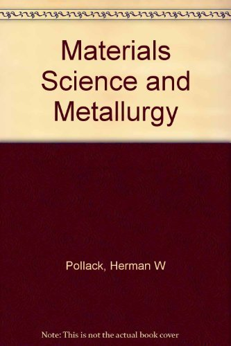 9780879094676: Materials Science and Metallurgy