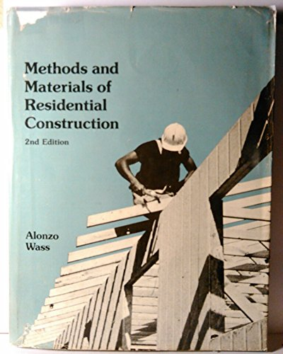 9780879094881: Methods and Materials of Residential Construction