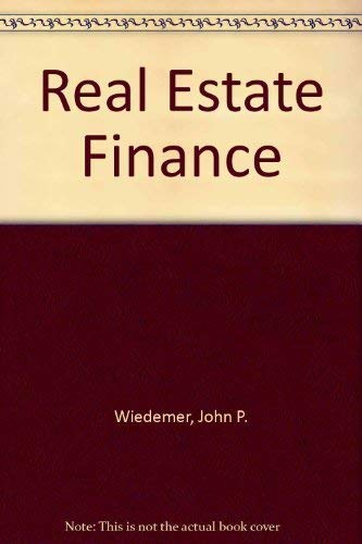 9780879097219: Real Estate Finance