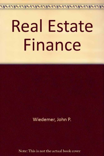 9780879097219: Real Estate Finance