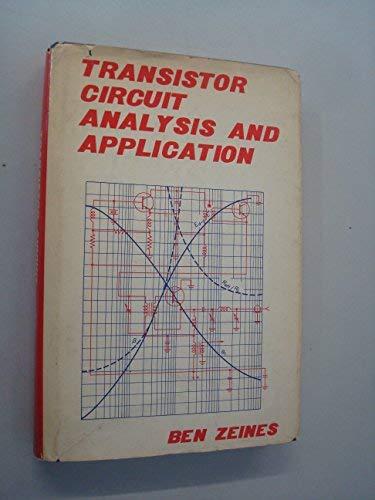 9780879098377: Transistor Circuit Analysis and Application