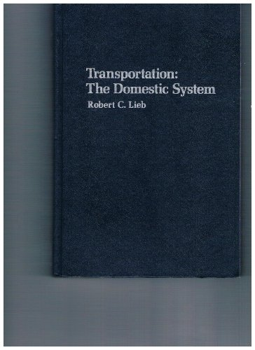 9780879098438: Transportation: The domestic system