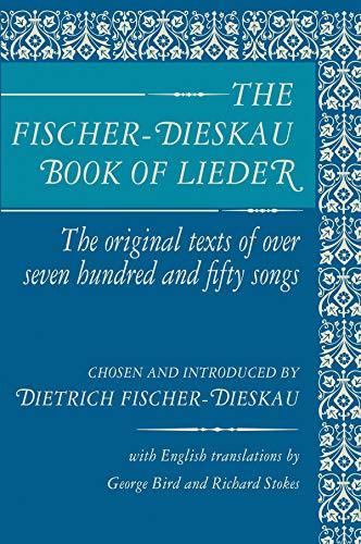 9780879100049: The Fischer-Dieskau Book of Lieder: Original Texts of 750 Songs in German (Limelight)