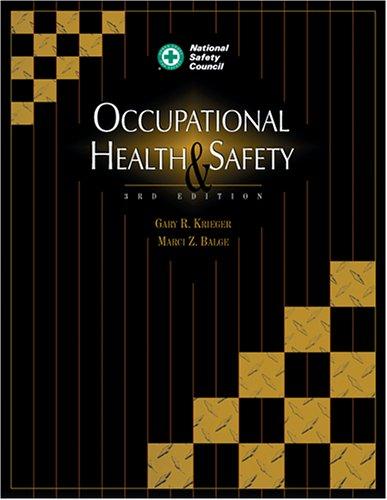9780879122034: Occupational Health & Safety, Third Edition