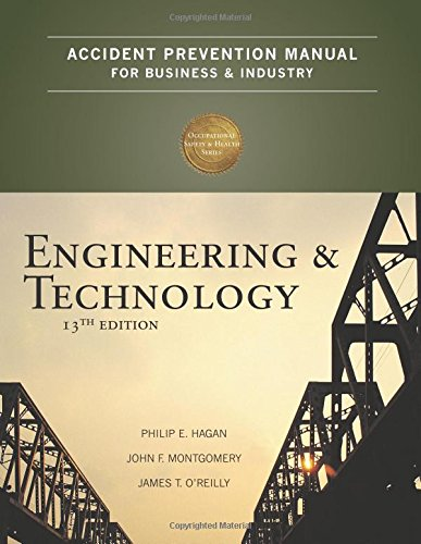 9780879122812: Accident Prevention Manual for Business & Industry: Engineering & Technology, 13th Edition