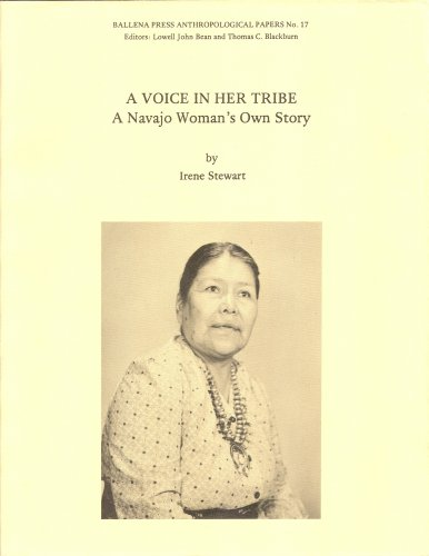 9780879190880: A Voice in Her Tribe: A Navajo Woman's Story (Ballena Press Anthropological papers No. 17)