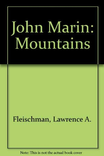 9780879200206: John Marin: Mountains