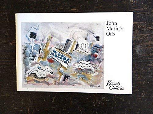 9780879200275: John Marin's Oils