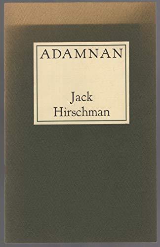 Adamnan: Jack Hirschman