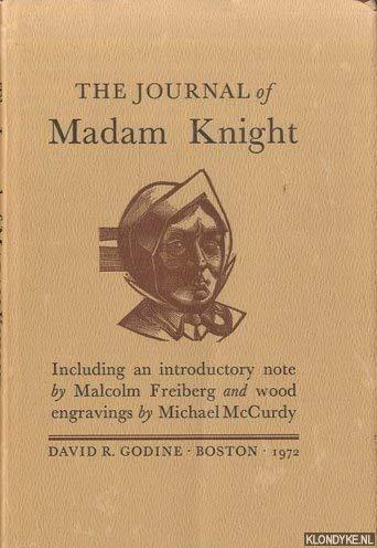 9780879230449: The journal of Madam Knight,
