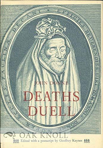 9780879230517: Deaths duell: A sermon delivered before King Charles I in the beginning of Lent 1630/1