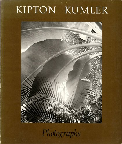 9780879231552: Kipton Kumler: Photographs (Contemporary photographers series ; 2)