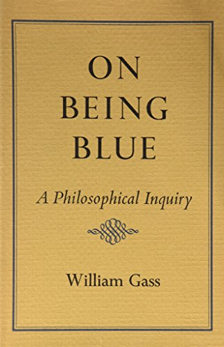 9780879231903: On Being Blue: A Philosophical Inquiry