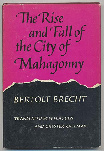 9780879232054: Title: The Rise and Fall of the City of Mahagonny