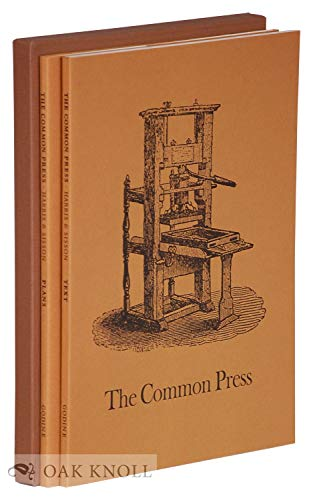 9780879232115: The common press: Being a record, description & delineation of the early eighteenth-century handpress in the Smithsonian Institution, with a history & documentation of the press