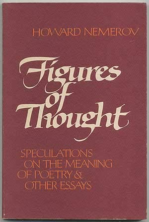 9780879232856: Figures of Thought: Speculations on the Meaning of Poetry and Other Essays