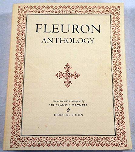 The Fleuron Anthology [Paperback]