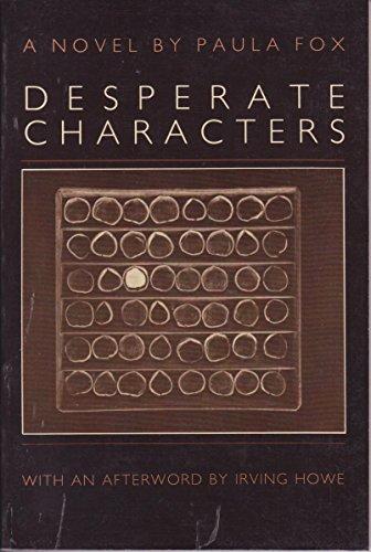 9780879233099: Desperate Characters: A Novel