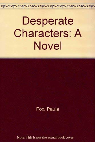 9780879233099: Desperate Characters: A Novel